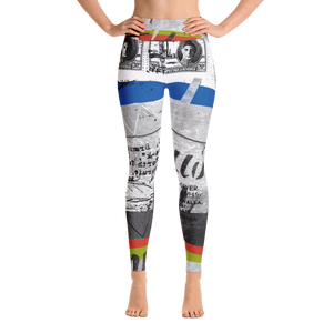 First Day Yoga Leggings - Hinneline - David Hinnebusch Designs