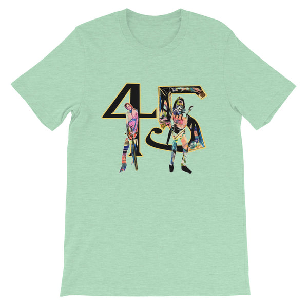 45 - David Hinnebusch Comix - Short-Sleeve Unisex T-Shirt