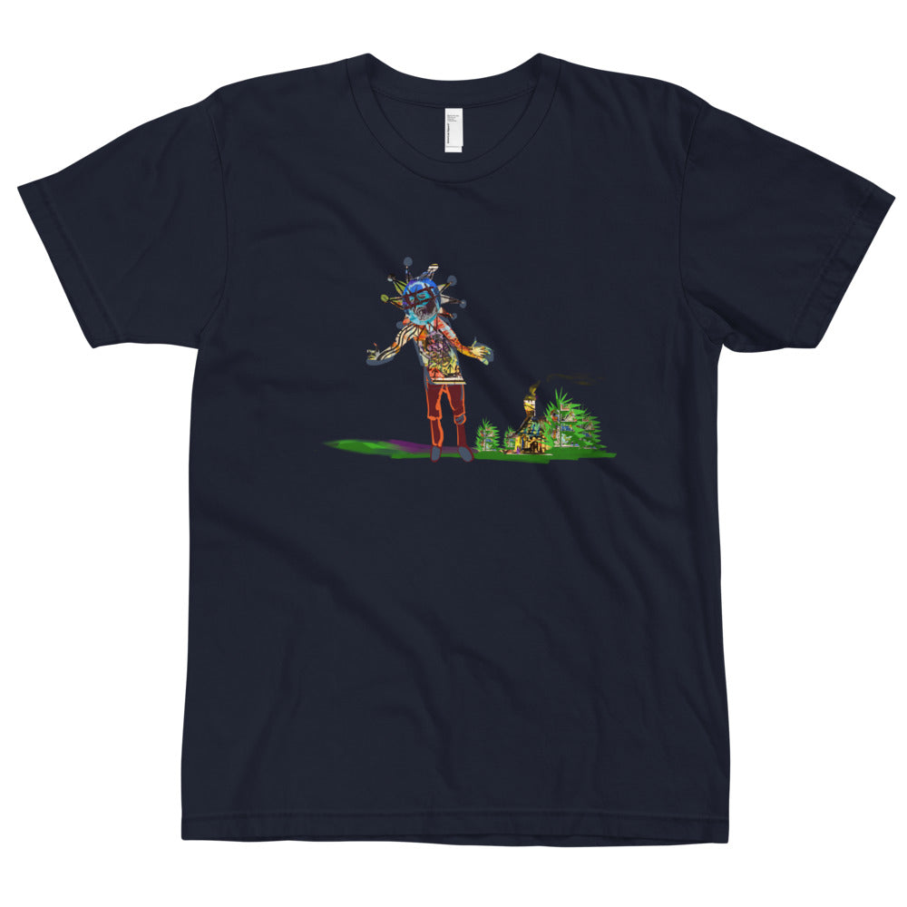 The Hills Saw a Lie - David Hinnebusch Comix - Unisex T-Shirt