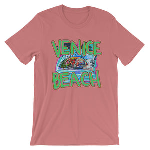 Venice Beach - David Hinnebusch Comix - Short-Sleeve Unisex T-Shirt