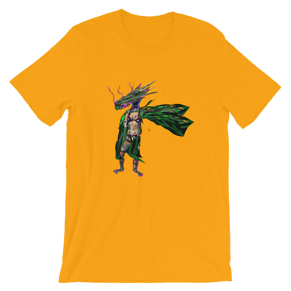 Ball Lizard - David Hinnebusch Comix - Short-Sleeve Unisex T-Shirt