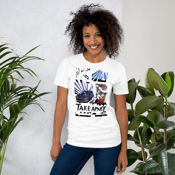 Take Art Apart  - David Hinnebusch Comix - Short-Sleeve Unisex T-Shirt