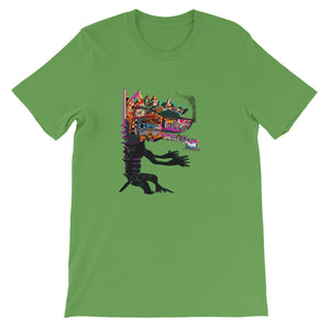Dragon with a C-10 Grill - David Hinnebusch Comix - Short-Sleeve Unisex T-Shirt