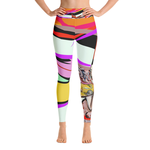 On the Tan Hat Yoga Mat - Hinneline Leggings