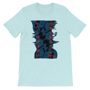 General Hospital Meets Breaking Bad Set in the Game of Thrones - David Hinnebusch COmix - Short-Sleeve Unisex T-Shirt