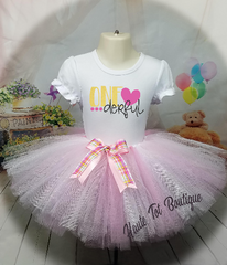 One derful, Birthday Outfit, Tutu & Shirt