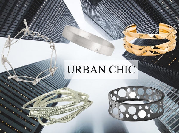 Urban chic jewelry