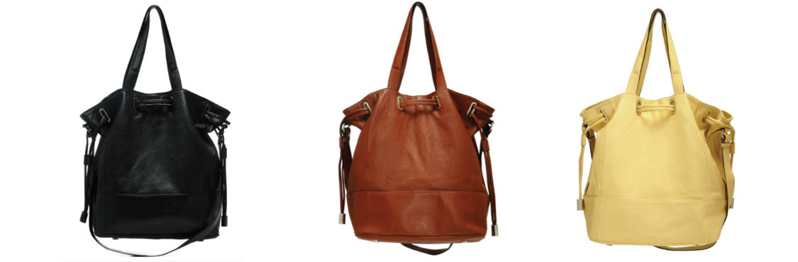 LEATHER bucket bags, leather handbags, brown leather handbag, black leather handbag, womens purses