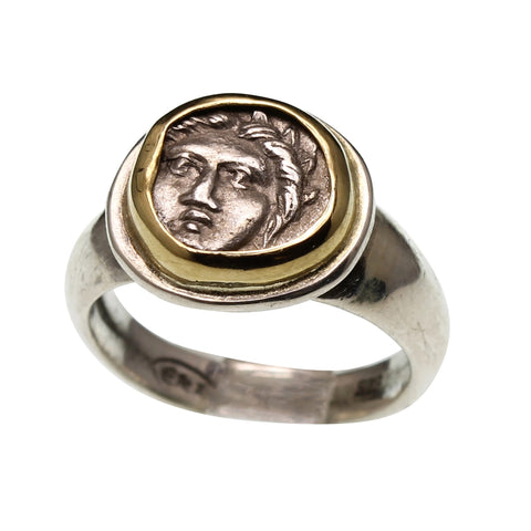 sterling silver, sterling silver ring, rings for men, coins, coin rings, sterling silver jewelry, jewelry