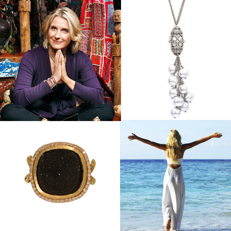 Elizabeth gilbert, Mothers Day, Gifts for Mom, Pearl Jewelry, Diamond jewelry