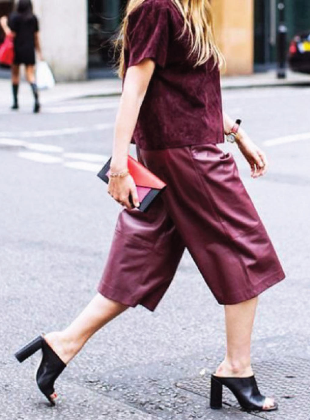 Head to Toe Burgundy Outfit
