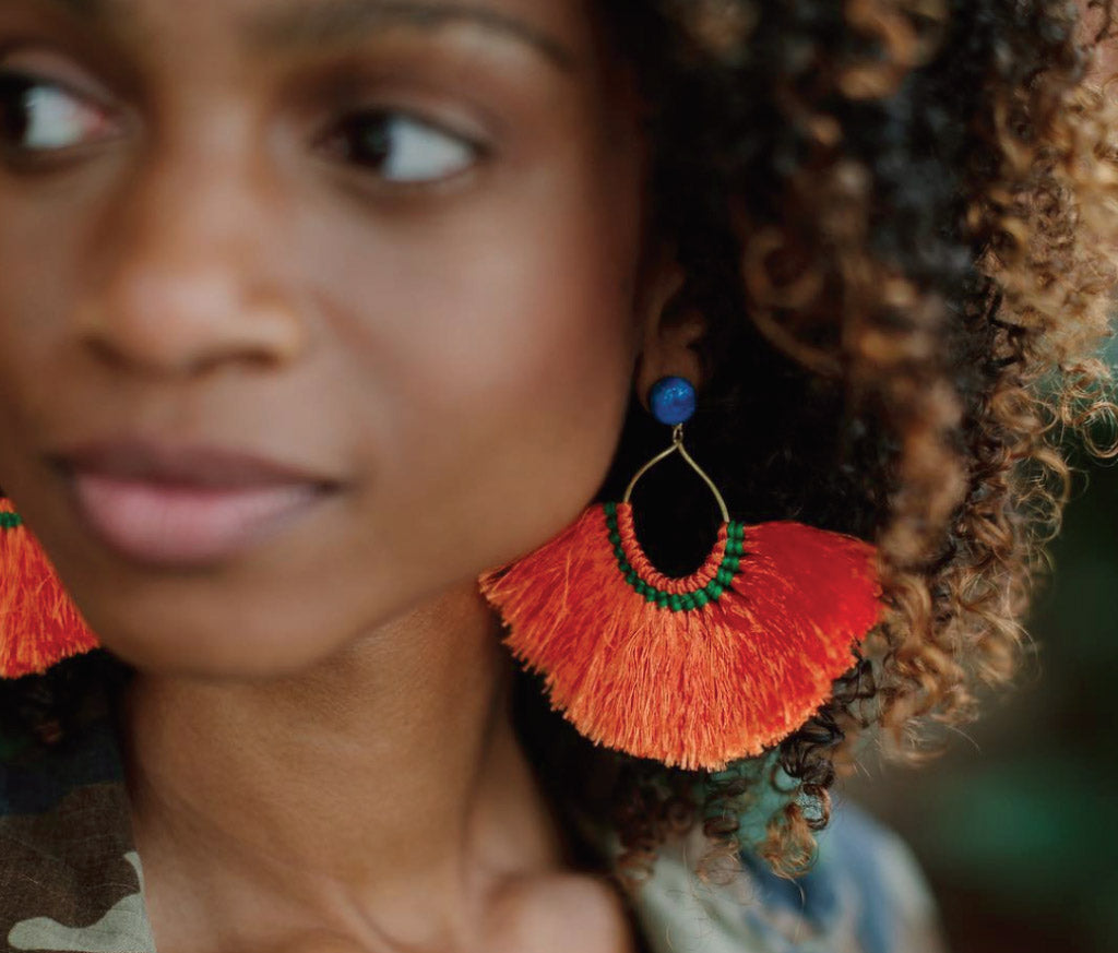 Medina Tassel Earrings