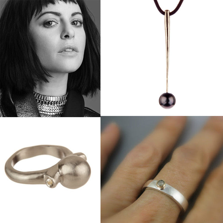 Sophia Amoruso, Mothers day gifts, unusual diamond rings, needle pendant necklace, unique silver jewelry