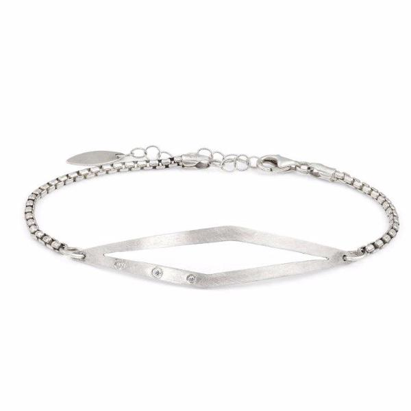 14K Gold and Sterling Silver Antal Bracelet - Bracelets