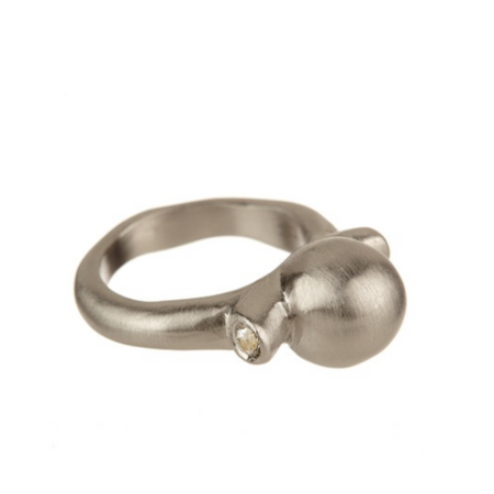 Sterling Silver Oda Stacking Ring