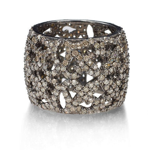 Champagne Diamond Band Ring - Fine Jewelry