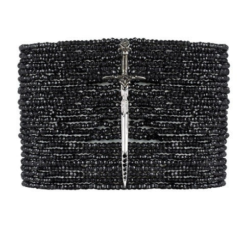 Black Spinel Bracelet - Fine Jewelry