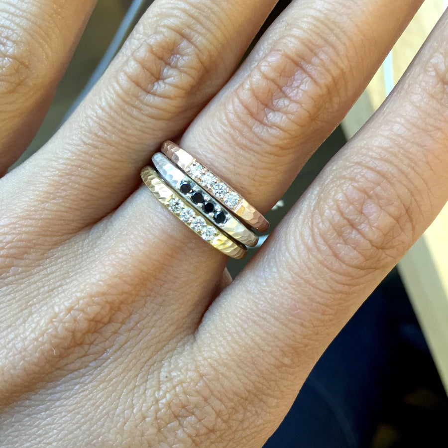 Oculus Bar Stack Ring - Jewelry