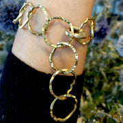 Hammered Lily Chain Bracelet - Fine Jewelry
