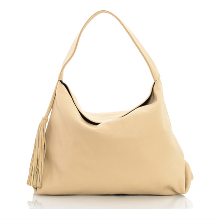 Embossed Leather Helen Hobo