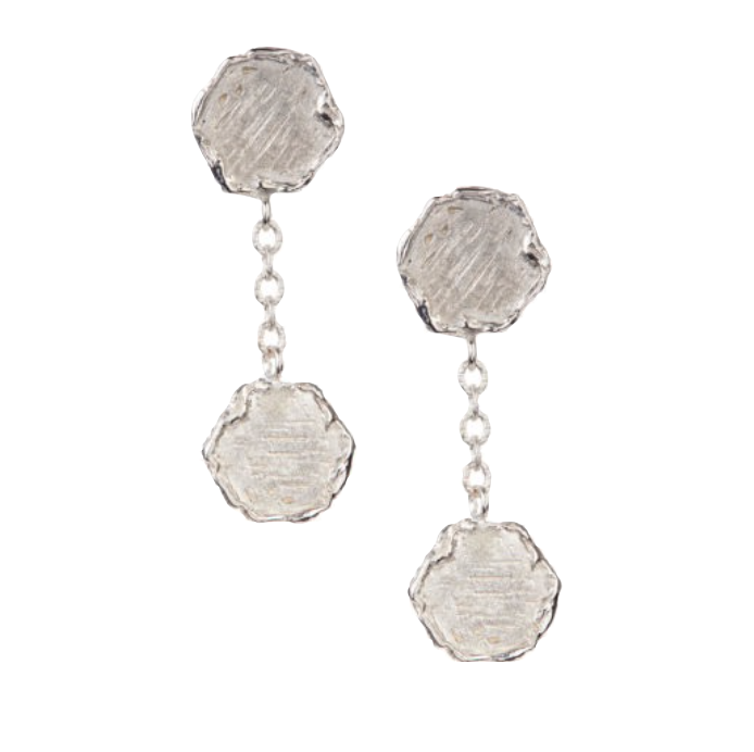 Sterling Silver Mini Nailhead Earrings