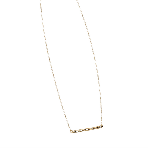 Icicle Bronze Necklace - Necklaces
