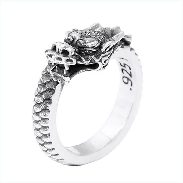 King Baby Dragon Ring - Jewelry