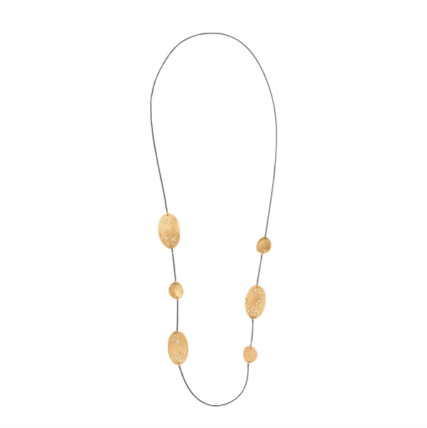 Lucio Bronze Chain Necklace - Necklaces