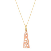 Rose Gold Helena Pendant - Fine Jewelry