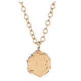 18K Yellow Gold Nailhead Necklace - Necklaces