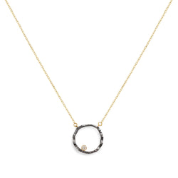 Open Silhouette Necklace - Fine Jewelry