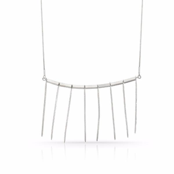 Sterling Silver Amata Necklace - Necklaces
