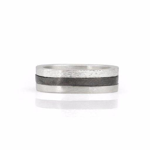 Sterling Silver Oda Stacking Ring - Rings