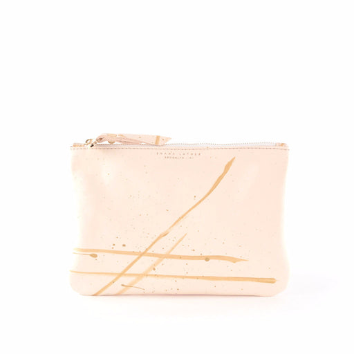SL Leather Pouch- Veg Tan - Clutch