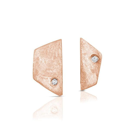 Sterling Silver and Quartz Lana Earrings