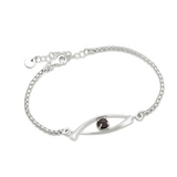 Sterling Silver and Diamond Valie Bracelet - Bracelets