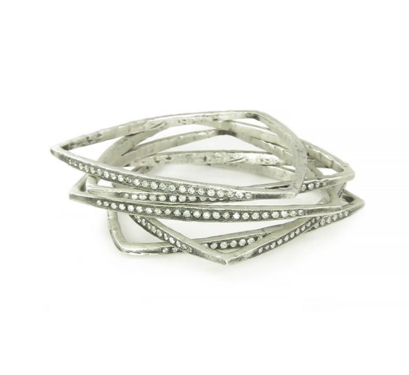 Triangle Bangle Bracelets