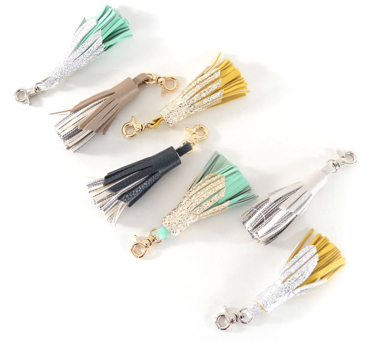 Leather Tassels- Various - Bag Charms & Accessories