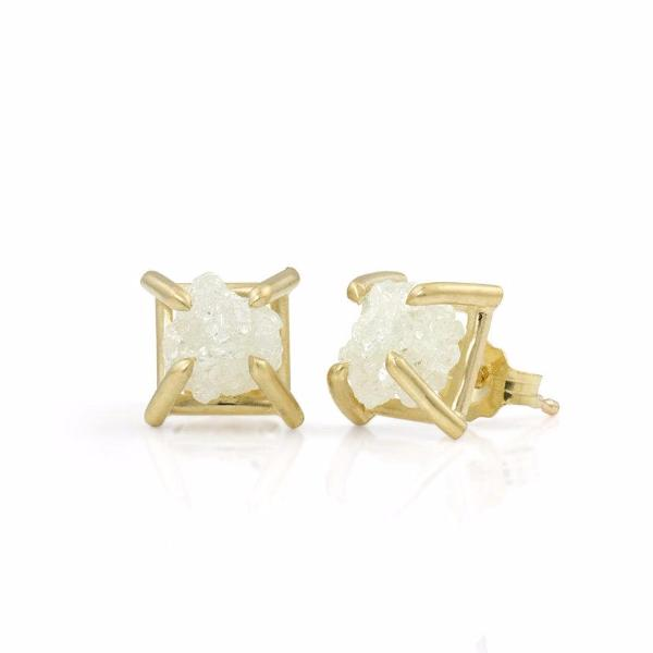 14K Gold and Diamonds Alta Earrings - Fine Jewelry