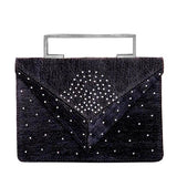 Deco Blue Clutch Bag - Clutches