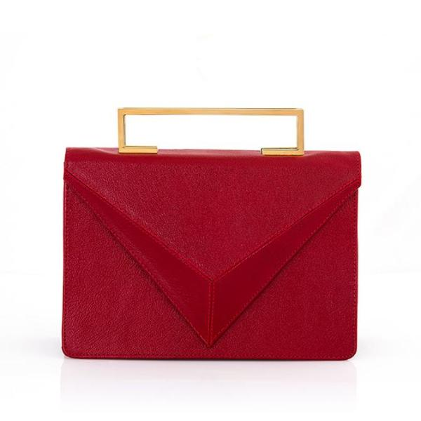 Diamondcelo Leather Bag - Clutches