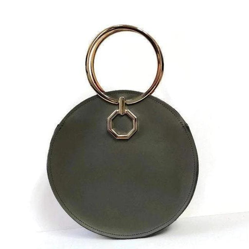 Aureole Bracelet Bag in Olive - Clutches