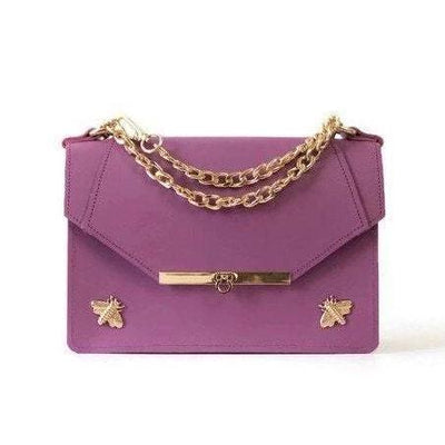 Gavi Shoulder Bag in Lavender - Shoulder Bags