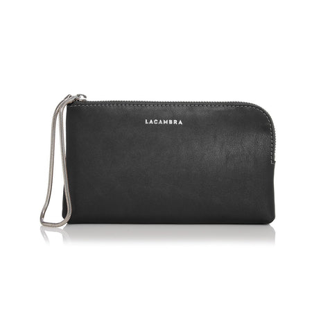 Metallic Leather Clutch/Wallet