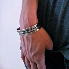 Narrow Bridge Cuff Bracelet - Bracelets