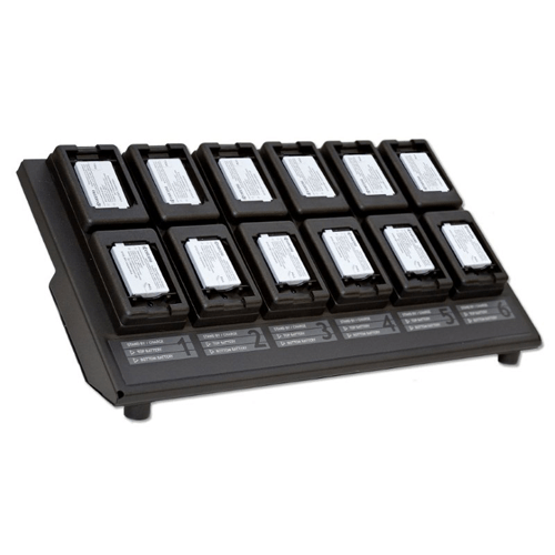 12-Bay Charger (DuraMax, DuraCore, DuraXT, DuraPro, DuraShock) - Accessory Solutions