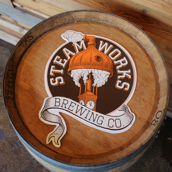Metal Tacker Steamworks Sign