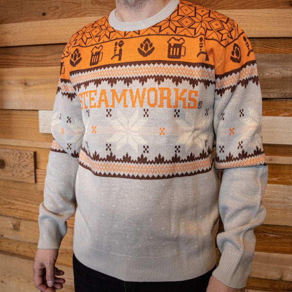 Steamworks Knit Christmas Sweater