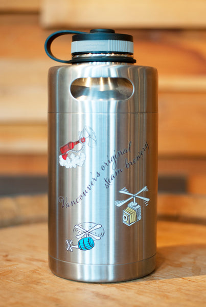 64oz Mini Keg Insulated Growler