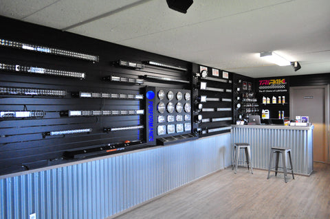Performance LED Lighting Showroom Clairmont